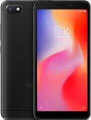 Смартфон Xiaomi Redmi 6A 3/32GB Black